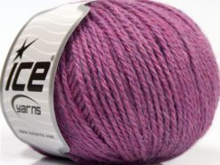 Lot of 8 Skeins Ice Yarns ALPACA LIGHT (18% Alpaca 20% Wool) Yarn Pink Light Lilac