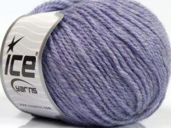 Lot of 8 Skeins Ice Yarns ALPACA LIGHT (18% Alpaca 20% Wool) Yarn Light Lilac