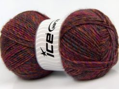 Lot of 2 x 150gr Skeins Ice Yarns HARMONY ALPACA (19% Alpaca 10% Wool) Yarn Fuchsia Gold Blue Lilac