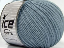 Lot of 3 x 100gr Skeins Ice Yarns SUPERWASH MERINO WOOL Yarn Indigo Blue