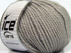 Lot of 3 x 100gr Skeins Ice Yarns PERUVIAN (25% Alpaca 25% Wool) Yarn Grey