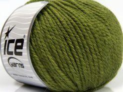 Lot of 3 x 100gr Skeins Ice Yarns PERUVIAN (25% Alpaca 25% Wool) Yarn Jungle Green