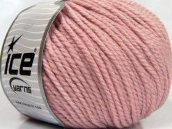 Lot of 3 x 100gr Skeins Ice Yarns PERUVIAN (25% Alpaca 25% Wool) Yarn Light Pink