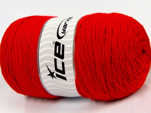400 gr ICE YARNS SAVER 400 Hand Knitting Yarn Red