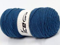 Lot of 2 x 200gr Skeins Ice Yarns SAVER Hand Knitting Yarn Blue