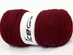 Lot of 2 x 200gr Skeins Ice Yarns SAVER Hand Knitting Yarn Burgundy