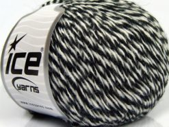 Lot of 8 Skeins Ice Yarns SALE WINTER Hand Knitting Yarn White Black
