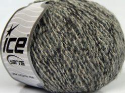 Lot of 8 Skeins Ice Yarns SALE WINTER (30% Wool) Yarn Grey Shades Black