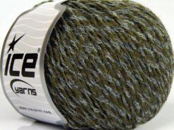 Lot of 8 Skeins Ice Yarns SALE WINTER (30% Wool) Yarn Dark Green Jeans Blue