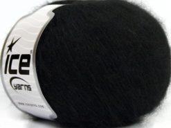 Lot of 8 Skeins Ice Yarns SALE WINTER (25% Wool) Hand Knitting Yarn Black