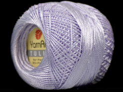 Lot of 6 Skeins YarnArt TULIP (100% MicroFiber) Hand Knitting Yarn Light Lilac