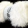 Lot of 4 x 100gr Skeins Ice Yarns EYELASH 100GR Hand Knitting Yarn Ecru