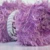 Lot of 4 x 100gr Skeins Ice Yarns EYELASH 100GR Hand Knitting Yarn Lilac
