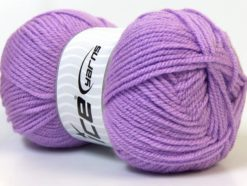 Lot of 4 x 100gr Skeins Ice Yarns Worsted FAVORITE Hand Knitting Yarn Lilac