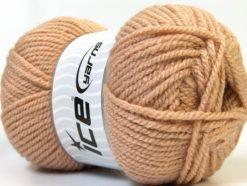 Lot of 4 x 100gr Skeins Ice Yarns Bulky ATLAS Hand Knitting Yarn Camel