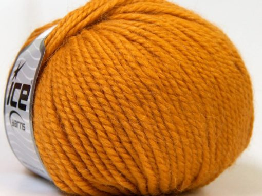 Lot of 4 x 100gr Skeins Ice Yarns ALPACA BULKY (25% Alpaca 35% Wool) Yarn Gold
