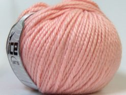Lot of 4 x 100gr Skeins Ice Yarns ALPACA BULKY (25% Alpaca 35% Wool) Yarn Light Pink