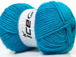 Lot of 4 x 100gr Skeins Ice Yarns ZERDA ALPACA (30% Alpaca 70% Dralon) Yarn Light Blue