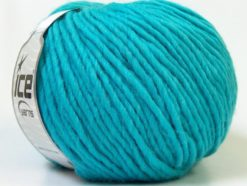 Lot of 4 x 100gr Skeins Ice Yarns FILZY WOOL (100% Wool) Yarn Turquoise