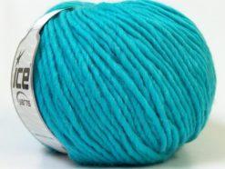 Lot of 4 x 100gr Skeins Ice Yarns FILZY WOOL (100% Wool) Yarn Turquoise