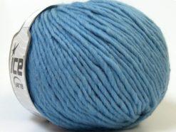 Lot of 4 x 100gr Skeins Ice Yarns FILZY WOOL (100% Wool) Yarn Light Blue