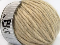Lot of 4 x 100gr Skeins Ice Yarns PURE WOOL SUPERBULKY (100% Australian Wool) Yarn Beige