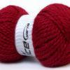 Lot of 2 x 150gr Skeins Ice Yarns SuperBulky ALPINE ALPACA (30% Alpaca 10% Wool) Yarn Burgundy