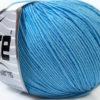 Lot of 8 Skeins Ice Yarns BABY SUMMER (60% Cotton) Yarn Light Blue