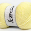 Lot of 4 x 100gr Skeins Ice Yarns SUPER BABY Hand Knitting Yarn Baby Yellow