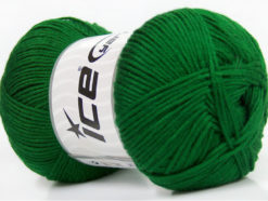 Lot of 4 x 100gr Skeins Ice Yarns BABY ANTIBACTERIAL (100% Antibacterial Dralon) Yarn Green