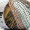 Lot of 8 Skeins Ice Yarns VIVID WOOL (60% Wool) Yarn Brown Shades Grey Shades