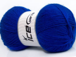 Lot of 4 x 100gr Skeins Ice Yarns MIRAGE (50% Wool) Hand Knitting Yarn Blue