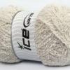 Lot of 4 x 100gr Skeins Ice Yarns PUFFY (100% MicroFiber) Yarn Light Grey