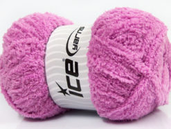 Lot of 4 x 100gr Skeins Ice Yarns PUFFY (100% MicroFiber) Yarn Orchid