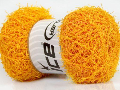 Lot of 4 x 100gr Skeins Ice Yarns SCRUBBER TWIST Hand Knitting Yarn Gold
