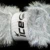 Lot of 4 x 100gr Skeins Ice Yarns EYELASH DAZZLE Hand Knitting Yarn Silver