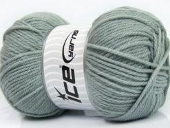 Lot of 4 x 100gr Skeins Ice Yarns SOFTLY BABY Hand Knitting Yarn Grey