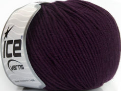 Lot of 4 Skeins Ice Yarns SUPERWASH MERINO EXTRAFINE (100% Superwash Extrafine Merino Wool) Yarn Maroon