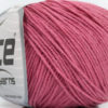 Lot of 8 Skeins Ice Yarns ALARA (50% Cotton) Hand Knitting Yarn Rose Pink