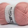 Lot of 4 x 100gr Skeins Ice Yarns DORA Hand Knitting Yarn Rose Pink