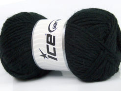 Lot of 4 x 100gr Skeins Ice Yarns ZERDA ALPACA (30% Alpaca 70% Dralon) Yarn Black
