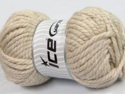 250 gr ICE YARNS ALPINE XL (45% Wool) Hand Knitting Yarn Beige