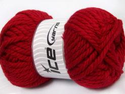250 gr ICE YARNS ALPINE XL (45% Wool) Hand Knitting Yarn Red