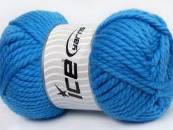 250 gr ICE YARNS ALPINE XL (45% Wool) Hand Knitting Yarn Indigo Blue