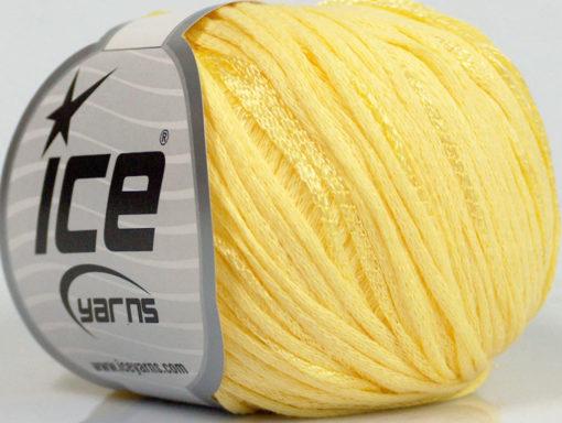 Lot of 6 Skeins Ice Yarns SUMMERTIME (79% Cotton 21% Viscose) Yarn Yellow