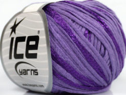 Lot of 6 Skeins Ice Yarns SUMMERTIME (79% Cotton 21% Viscose) Yarn Lilac
