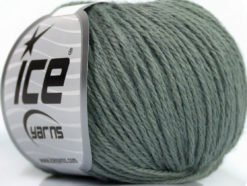 Lot of 6 Skeins Ice Yarns BABY MERINO DK (40% Merino Wool) Yarn Grey