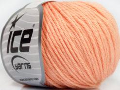 Lot of 6 Skeins Ice Yarns BABY MERINO DK (40% Merino Wool) Yarn Light Salmon