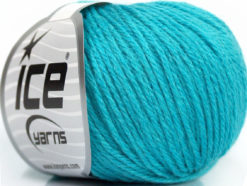 Lot of 6 Skeins Ice Yarns BABY MERINO DK (40% Merino Wool) Yarn Turquoise