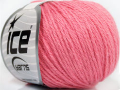 Lot of 6 Skeins Ice Yarns BABY MERINO DK (40% Merino Wool) Yarn Pink